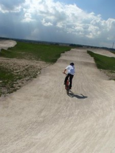 At the BMX track at Broomfield, Herne Bay